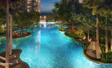 The Florence Residences Island Pool