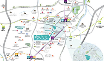 The Florence Residences Location Map